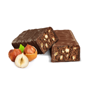 Oriešková tyčinka v mliečnej čokoláde | NutriFood Keto