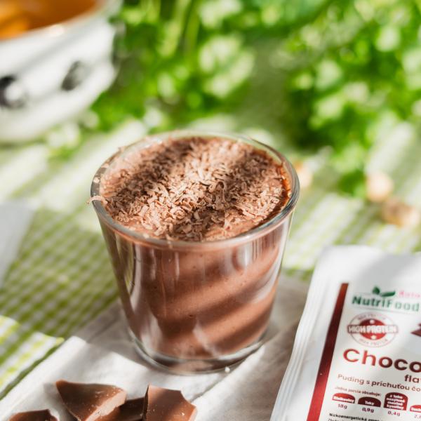 Čokoládový puding NutriFood Keto