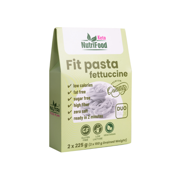 """Rastlina konjak je doslova ,,zbraň"""" na chudnutie. Na výber máte z troch druhov Fit Pasta NutriFood Keto - špagety, fettuccine či ryža."""