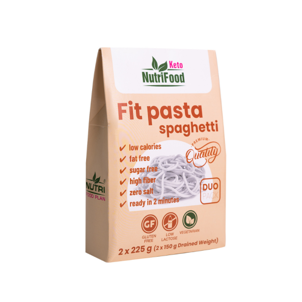 Fit Pasta špagety z rastliny konjak | Prílohy | NutriFood Keto