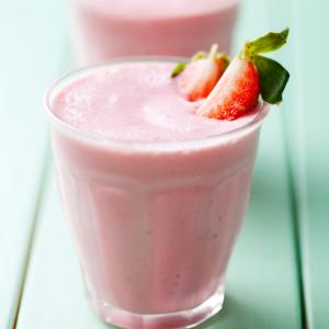 Jahodové smoothie NutriFood Keto