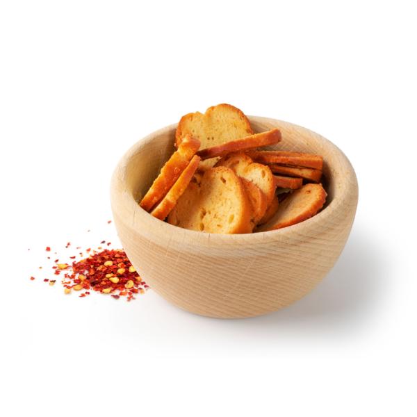Paprikové krutóny | Slané pochutiny | NutriFood Keto
