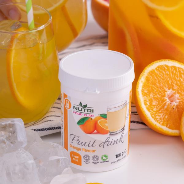 Pomarančový ovocný drink