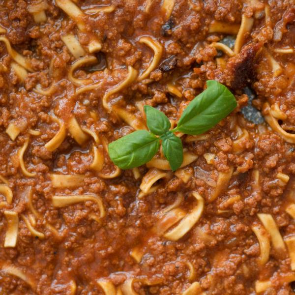 Špagety Bolognese NutriFood Keto