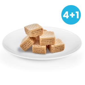 Vanilkové wafery 4+1 ZADARMO NutriFood Keto
