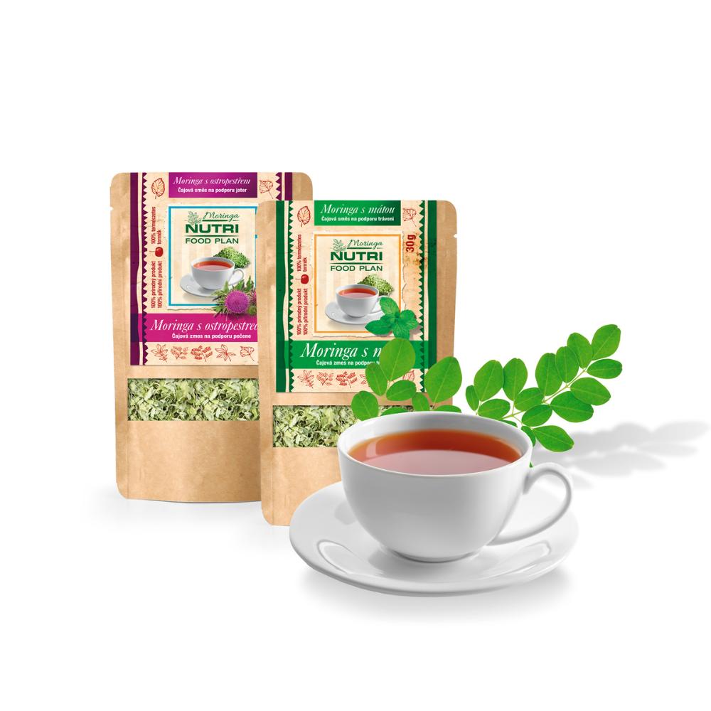 Moringové čaje