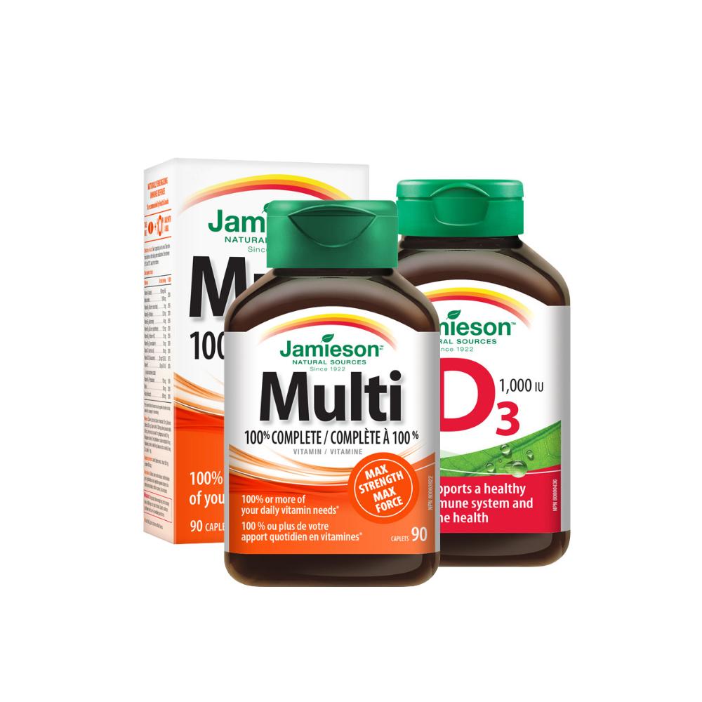 Doplnky stravy a vitamíny